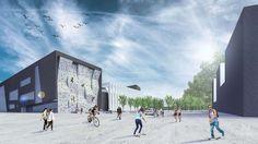 Sports and Educational Center – NOMS – Architectural Studio Poland, Louvre, Education, Studio, Architecture, Building, Sports, Travel, Arquitetura