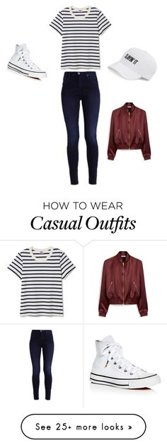 """Casual"" by maddypuppies on Polyvore featuring Converse, SO and Mulberry"