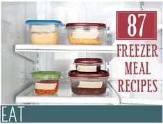 87 Make Ahead Freezer Meal Recipes