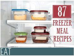 87 Make Ahead Freezer Meal Recipes