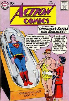 Action 268 Comic Cover Superman (&Hercules)