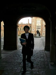 A student at Eton College