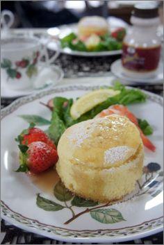 My Happy Time : ストウブでリコッタチーズのパンケーキ