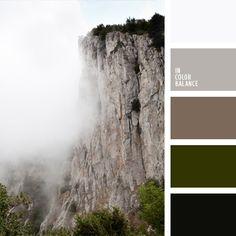color beige grisáceo, color marrón plateado, color niebla de mañana, color niebla en montaña, colores de la niebla mañanera, colores fríos, combinación de colores para interiores, elección del color, marrón polvoriento, matices de color marrón grisáceo, tonos fríos, tonos verdes,