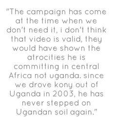 From Uganda Speaks