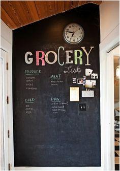 Chalkboard Paint Ideas and DIY Recipe (via @BrightNest)