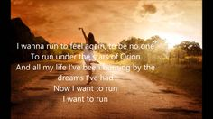 Run - Delta Rae (lyrics)