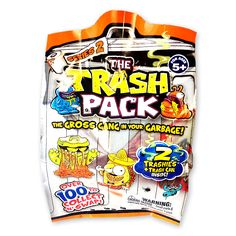 The surprise inside of a garbage can! $1.99 series 2 trashies!  Foil blind pack exclusive to Five Below.