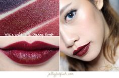 Wet n Wild Megalast Lipstick in Cherry Bomb Wet N Wild Lipstick, Lipstick Dupes, Lipstick Colors, Red Lipsticks, Lip Colors, Makeup Tips, Beauty Makeup, Makeup Ideas, Make Up Dupes