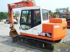 Daewoo Doosan Solar 70-Ⅲ Crawler Excavator Service Parts Catalogue Manual