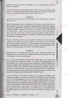 Stunde 3-4 - Немецкий язык 6 класс Сотникова