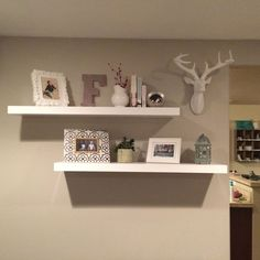 Inspiration needed - I have decorated my floating shelves with what I already have but am looking to change it up. I love essentially all styles yet the one my…