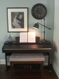 tufted piano bench with nailhead trim