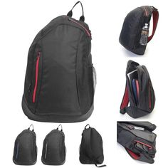 """Brand New Hi-Tech Sling 15"""" Laptop/ MacBook Pro Backpack Available in 3 colors #Backpack"""