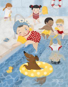 Joy Steuerwald - professional children's illustrator, view portfolio