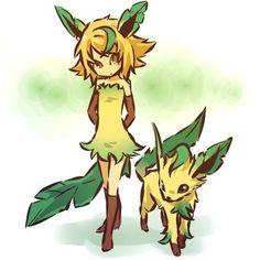 Leafeon | Community Post: 100 Human-Like Pokémon Adaptations