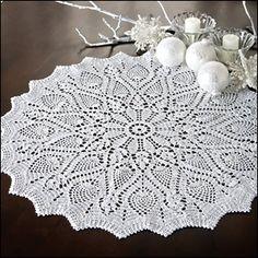 Holiday Pineapples from Crochet World December 2010