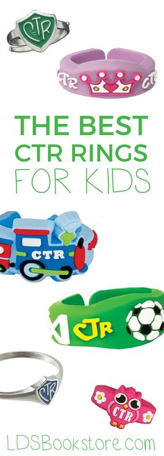 The best LDS CTR rings for kids! | Choose the Right