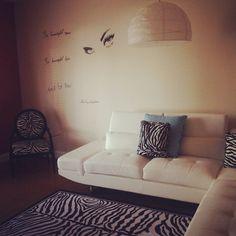 My living room...