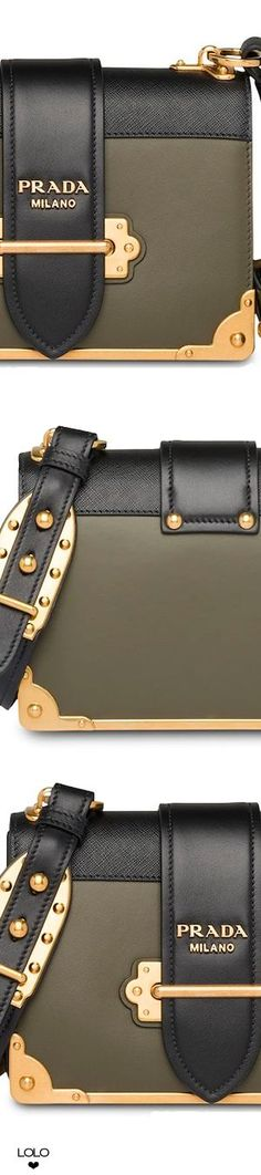 7aacfcce9371 PRADA Cahier leather shoulder bag #prada #handbags - Prada Cahier Bag -  Ideas of