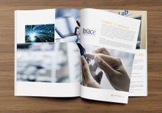 Um catálogo clean e com estilo, desenvolvido e impresso para mostrar a excelência dos trabalhos do Grupo. Utilizamos como conceito um layout com cores pesadas sem deixar o brando de lado.