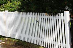 vitt staket liggande - Sök på Google
