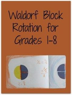 Establish your own yearly rhythm and Waldorf homeschooling curriculum plan with this outline of the traditional Waldorf blocks for grades 1-8.