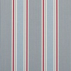 Sail Stripe - Marine fabric, from the Maritime Prints collection by Studio G