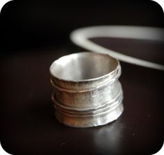 Merry go round spinner ring by lunaticart on Etsy