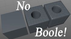 "Modeling A Perfect Hole With Out a ""Boole"" in C4D"