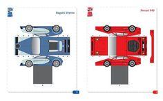 Bugatti Veyron - Ferrari F40