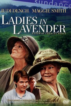 Ladies in Lavender DVD ~ Judi Dench, Maggie Smith Library Natascha Mcelhone, David Warner, Period Drama Movies, Period Dramas, Maggie Smith, Movies Showing, Movies And Tv Shows, Ladies In Lavender, Entertainment