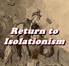 This video documents US efforts in the 1920s to return to isolationism.
