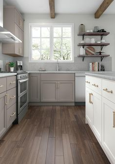 White And Gray Kitchen Cabinetry Ideas Inspiration At
