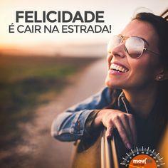 Melhor ainda se for com quem você ama! #VáDeMovida  Conta aí, quem é o seu companheiro de viagem preferido? Emoticon smile