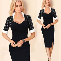 Shop Floryday for affordable Elegant Dresses. Floryday offers latest ladies' Elegant Dresses collections to fit every occasion. Elegant Dresses, Nice Dresses, Casual Dresses, Dresses With Sleeves, Short Sleeves, Sheath Dresses, Sleeve Dresses, Zara Dresses, Long Sleeve