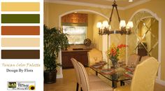 Tuscan Decor Colors | Tuscan Wall Treatments Part 1 « Tuscan Decor and Design | Tuscan Home ...