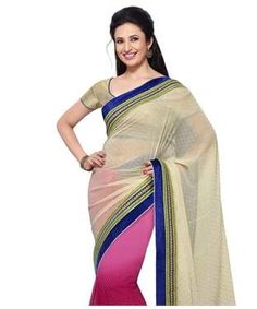 Jacquard Saree with Blouse   I found an amazing deal at fashionandyou.com and I bet you'll love it too. Check it out!