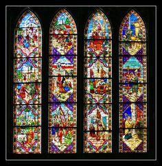 juan reja y vidrieras de la catedral de leon vidrieras