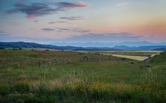 Montana Sunset  - http://earth66.com/rural/montana-sunset/