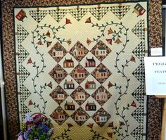by featured quilter Peggy Gelbrich at the Krazy Horse Quilters Show