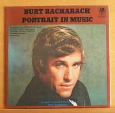 BURT BACHARACH - Portrait in Music - MINT Vinyl LP - STILL SEALED - Any Day now