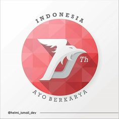 Dirgahayu Indonesia ke 70 #70 #indonesia #design #logo #illustrator #wpap…