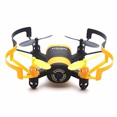Peniya WIFI FPV Mini 6 Axis Quadcopter Helicopter Drone with Camera &Transmitter,LED Night Light,Wireless Remote Control,Yellow >>> Check out the image by visiting the link. Drone Remote, Drone Quadcopter, Wifi, Drone For Sale, Box Camera, Electronic, Toilet Training, Christmas Gifts For Kids