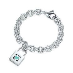 Just got it at discount price, Tiffany Heart Bracelet Blue Heart Lock Charm And Bracelet Tiffany Bracelets, Tiffany Jewelry, Silver Bracelets, Jewelry Bracelets, Silver Jewelry, Heart Jewelry, Jewelry Box, Bangles, Bling Bling