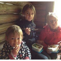 Picnic med systrar!