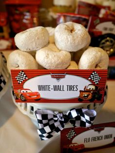 Disney Cars Birthday Party Ideas | Photo 1 of 80 | Catch My Party