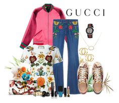 """""""Gucci"""" by misshonee ❤ liked on Polyvore"""