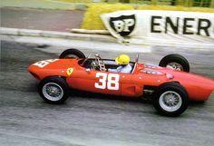 Ricardo Rodriguez, Monaco GP 1962 Ferrari 156