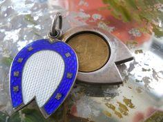In Car Lucky Horseshoe Pendant /& Wooden Beads Pony Farrier Wedding Horse Shoe
